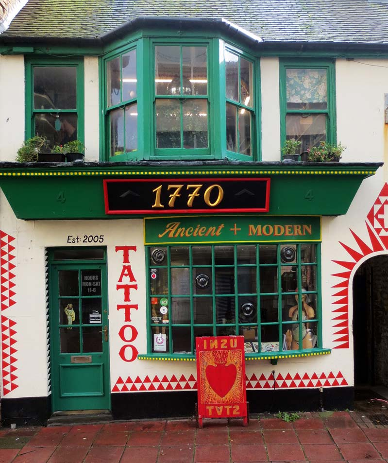 1770 Tattoo Studio in Brighton, UK