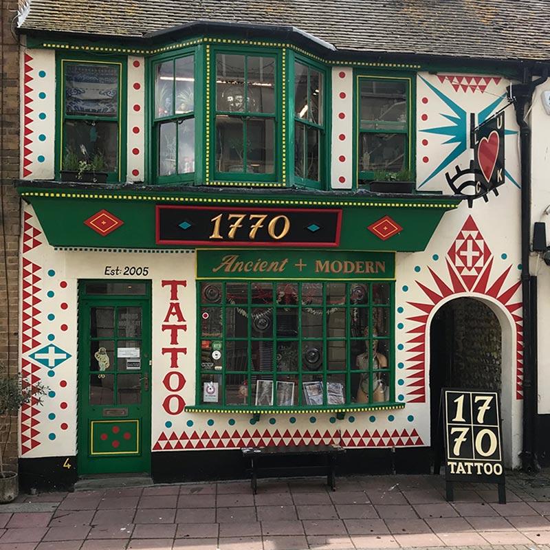1770 Tattoo Studio in Brighton, UK